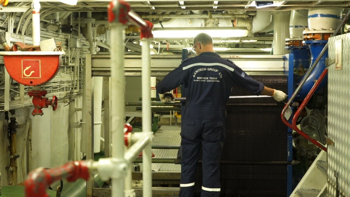 Maritech Group onboard maintenance